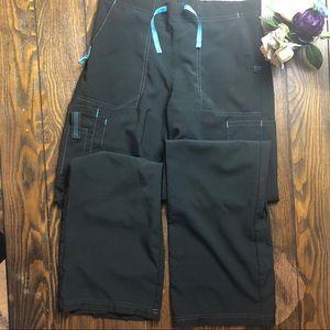 Carhartt gray track cargo pants